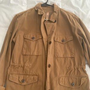 JCrew Tan Utility Jacket, Sz. Med